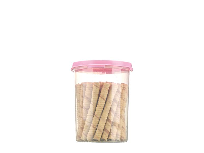 1L圆形密封罐(hr0315)