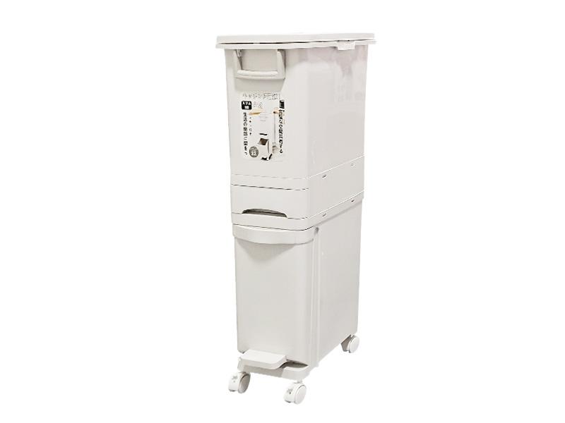 窄形三层分类垃圾桶(32L)(hr0469)