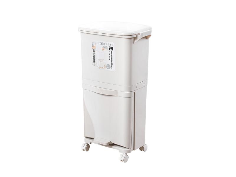 双层分类垃圾桶(38L)(hr0458)